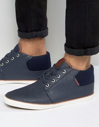 Jack And Jones Vertigo Plimsolls Navy
