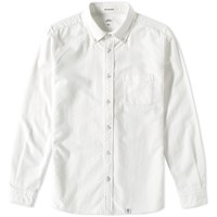 Bedwin And The Heartbreakers Brian Button Down Oxford Shirt White