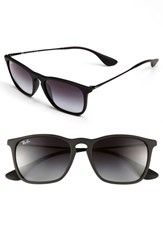 Women's Ray Ban 'Youngster' 54Mm Square Keyhole 54Mm Sunglasses Black