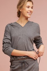 Anthropologie Sunday Hoodie Grey