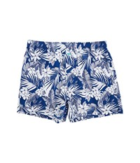 Tommy Bahama Woven Boxer All Over Floral Leaves Bering Blue Men's Underwear Multi
