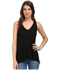 Splendid Drapey Lux Tank Top Black 1 Women's Sleeveless