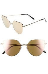 Spektre Women's Off Shore 1 54Mm Retro Sunglasses Rose Gold Rose Gold Mirror Rose Gold Rose Gold Mirror