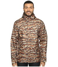 Columbia Watertight Printed Jacket Rustic Brown Camo Men's Coat Animal Print