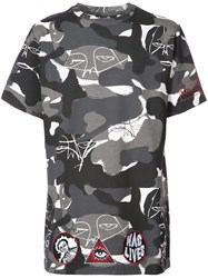 Haculla Camouflage T Shirt Cotton S Grey