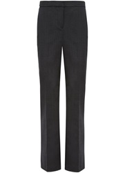 Austin Reed Prince Of Wales Check Trousers Charcoal
