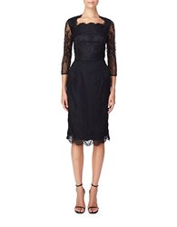 Erin Fetherston Lace Sheath Dress Black