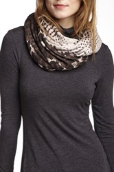 Nine West Brushstroke Infinity Scarf Multi