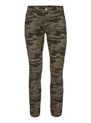 Topman Multi Aaa Camouflage Ripped Jeans