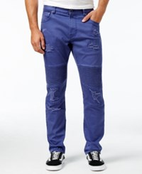 Lrg Men's Payola Twill Pants Prusian Blue