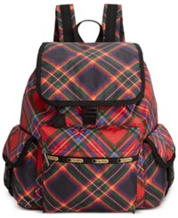 Le Sport Sac Lesportsac Voyager Backpack Cozy Plaid