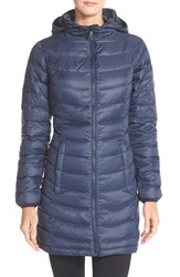 The North Face Women's 'Jenae' Hooded Down Jacket Urban Navy