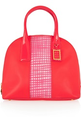 Marc By Marc Jacobs Show Off Leather And Neon Pvc Tote