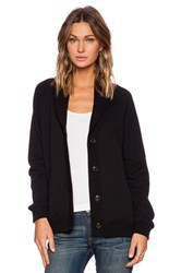 Obey Darya Cardigan Black