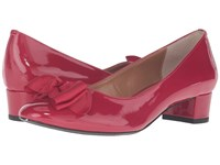 J. Renee Cameo Red Wedge Shoes