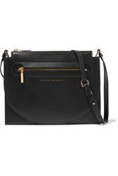 Victoria Beckham Moon Light Leather Shoulder Bag Black
