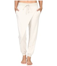 Hard Tail Wrap Over Pants Linen Women's Casual Pants Beige