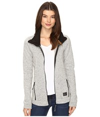 O'neill Piste Fleece Silver Melee Women's Fleece Gray