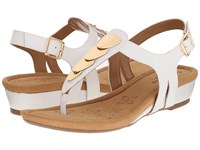 Softspots Summit White Goat Leather Pull Up Women's Sandals