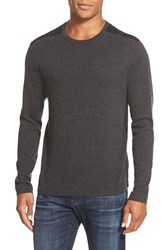 Men's John Varvatos Star Usa Contrast Patch Crewneck Sweater
