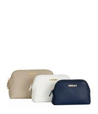 Dkny Set Of 3 Tribeca Cosmetic Pouches Multi
