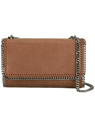 Stella Mccartney Falabella Crossbody Bag Brown