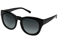 Michael Kors Summer Breeze Black Dark Grey Gradient Fashion Sunglasses
