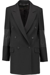 Mcq By Alexander Mcqueen Studded Wool Blazer Black