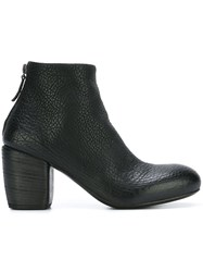 Marsell Chunky Heel Ankle Boots Black
