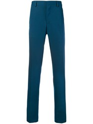 Calvin Klein 205W39nyc Contrasting Panelled Tailored Trousers Blue