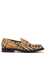 Burberry Bedmont Vintage Check Loafers Multi