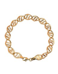 Lord And Taylor 14K Yellow Gold Twist Bracelet