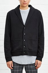 Forever 21 Shawl Collar Buttoned Cardigan