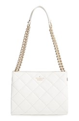 Kate Spade New York 'Emerson Place Mini Convertible Phoebe' Quilted Leather Shoulder Bag Grey Cement