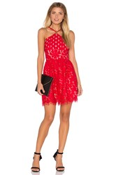 Style Stalker Cassia Circle Dress Red
