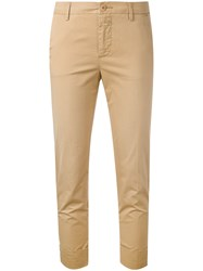 Closed Cropped Chino Trousers Women Cotton Spandex Elastane 26 Nude Neutrals