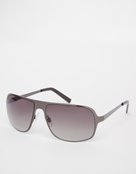 Peter Werth Aviator Sunglasses Silver