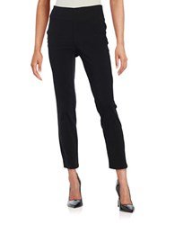 Lord And Taylor Petite Slim Ankle Pants Black