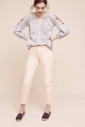 Anthropologie Levi's Wedgie Icon High Rise Jeans Pink