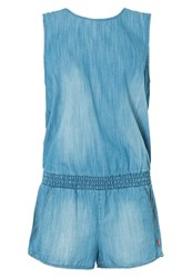 Seafolly Detention Jumpsuit Chambray Light Blue
