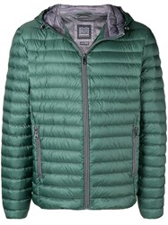 Geox Padded Hooded Jacket Green