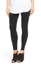 Nordstrom Women's Ponte And Faux Suede Leggings