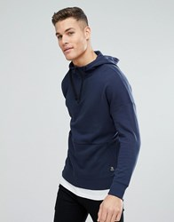 Tom Tailor Hoodie With Dropped Shoulder 6724 Blue