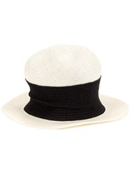 Horisaki Design And Handel Bicolour High Hat White
