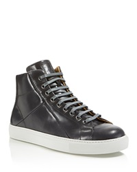 Mr. Hare Jack Johnson High Top Sneakers Grey