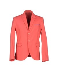 Roberto Pepe Suits And Jackets Blazers Men Coral