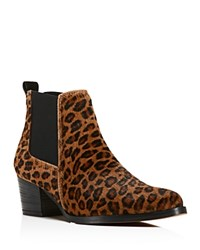 Kenneth Cole Russie Leopard Print Calf Hair Chelsea Booties 100 Bloomingdale's Exclusive