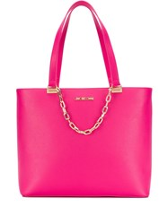 Love Moschino Fuchsia Tote Bag Pink