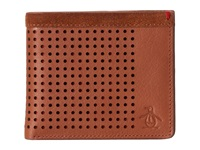 Original Penguin Hector Leather Wallet English Tan Wallet Handbags