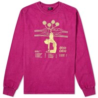 Brain Dead Long Sleeve Mind Keep Tee Pink